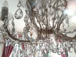 Bohemia antik 12 karos kristály csillár eladó!