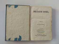 Kőváry László: Történelmi adomák, 1857-es kolozsvári kiadás