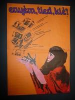 Karácsonyi ajándék ötlet! Antik filmplakát: ENYÉM, TIED, KIÉ?