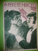 Karácsonyi ajándék ötlet! Antik filmplakát: A FEKETE HERCEG