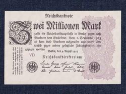 Németország Weimari Köztársaság (1919-1933) papír 2000000 Márka bankjegy 1923 / id 11762/
