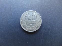 20 fillér 1908 K.B.
