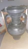 Régi   kerámia  padló  váza   50  cm   jelzett    15000  ft