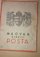 Magyar királyi posta ( távirat ) MÉRETE:20X28 CM.