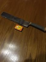 """Régi """"macséta"""" - machete - óriási házikészítésű kés"""
