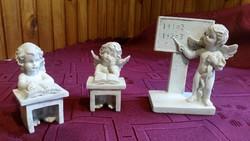Antik, tanító angyal,gondolkodó angyal, olvasó angyal, gipsz szobor eladó!