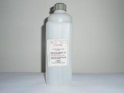 Retro Vízüveg műanyag flakon - KEMIKÁL - Vörös Csillag MGTSZ Inárcs - 1980-as évekből
