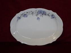 Winterling Bavaria német porcelán ovális húsos tál, 32 x 22,5 cm.
