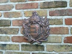 Magyar címer koszorúval