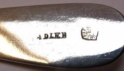 RR! Tatai antik ezüst kanál 1864!