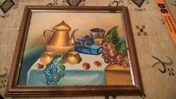 Gyümölcs csendélet festmény