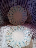 Áttört szélű porcelán tányér
