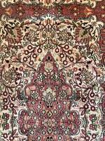 Kézicsomózású Kashmir selyem futószőnyeg 260x100cm