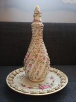 Vintage Biszkvit tányér és kiöntő
