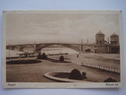 Régi képeslap Szeged Közúti híd