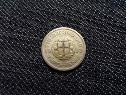 Anglia VI. György .500 ezüst 3 Pence 1939 / id 12606/