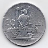 Románia népköztársaság 20 román Lei, 1951, ritka