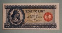 1946os 100 Forint. Feljavított állapotban. Szép erős színek. Képeken látható állapotban.