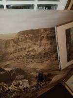Hatalmas, 90x120 centis fénykép a Gran Canyonról, nagyon jó állapotban, feltekerve a tartójában