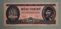 Ritka, 1960as 20 Forint. Szép, de biztosan préselt állapotban. Képeken látható!