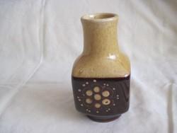 Ritka Városlődi mázas kerámia váza 17 cm