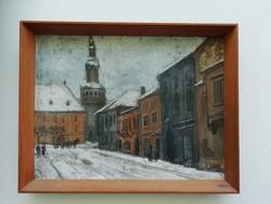 Élesdy István, téli városrész