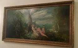Herpai Zoltán eredeti festménye