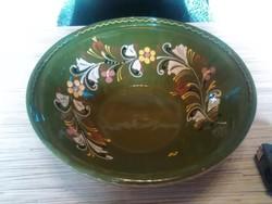 Kerámia fali dísz tányér tálaló