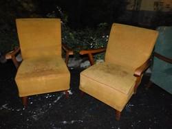 2 db art deco fotel.