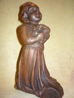 Faragott fa angyal 190519