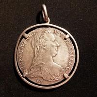 Mária Terézia tallér 1780 medál