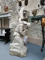 """Máriahegyi """"MIEREISZ"""" János: Angyalt ábrázoló gipsz szobor"""