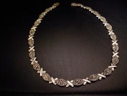 Gyönyörű ezüst nyakék 41,8gramm!!
