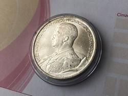 1939 Horthy ezüst 5 pengő gyönyörű,verdefényes darab