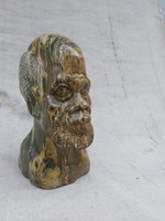 Antik Afrikai Jáspis szobor, igazi ritkaság.