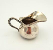 Antik ezüst tejkiöntő kávézáshoz