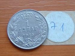 SZERB HORVÁT SZLOVÉN KIRÁLYSÁG 1 DINÁR 1925 (b) 71.