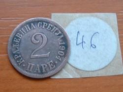SZERBIA 2 PARA 1904 46.