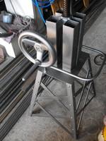 Kovics-Manó Acél stil  industrial  vintage traktor steampunk Retro Loft ipari forgó szék