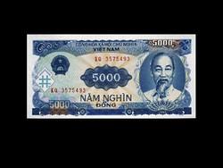 UNC - 5000 DONG - VIETNÁM - 1991 - !!! Ritka