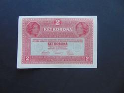 2 korona 1917  1641 Szép ropogós bankjegy ! 01