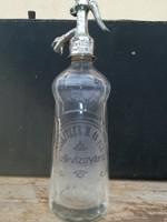 Szodausveg - spitzer m. És fiai Kisbéren. Gyűjteménybe szodas üveg