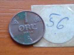 NORVÉGIA 1 ŐRE 1950  56.