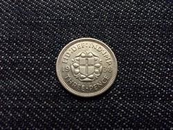 Anglia VI. György .500 ezüst 3 Pence 1938 / id 12599/