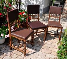 1800-as évekből származó ónémet székek