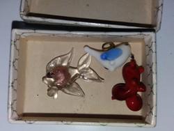 Miniatür Üveg Vitrindíszek 2cm-esek