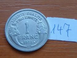 FRANCIA 1 FRANC FRANK 1958 ALU 147.