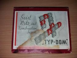 Vintag Typ-Dom Társasjáték