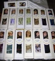 Porcelánfejű babák 40cm-es 19db