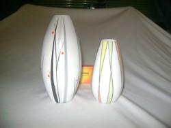 Két darab art deco porcelán váza - Wallendorf, egyéb